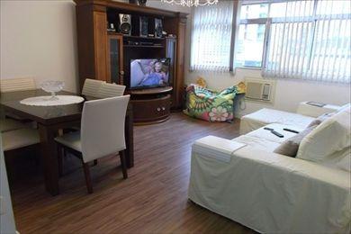 ref.: 874300 - apartamento em santos, no bairro boqueirao - 3 dormitórios