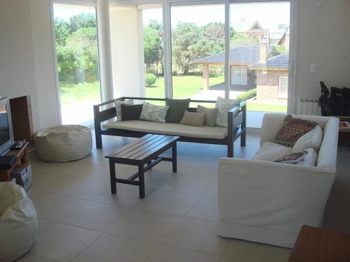 ref: 877 - casa en alquiler, pinamar, zona lasalle