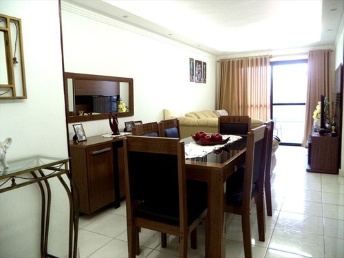 ref.: 882 - apartamento em praia grande, no bairro guilhermina - 2 dormitórios