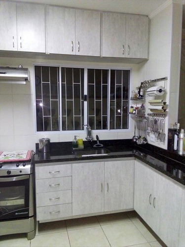 ref.: 882 - casa em mongaguá, no bairro vila seabra - 3 dormitórios