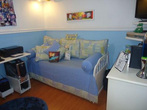 ref.: 883 - apartamento em santos, no bairro ponta da praia - 2 dormitórios