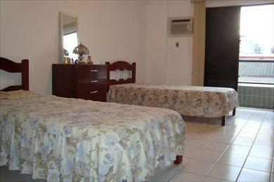 ref.: 89 - apartamento em praia grande, no bairro vila guilhermina - 2 dormitórios