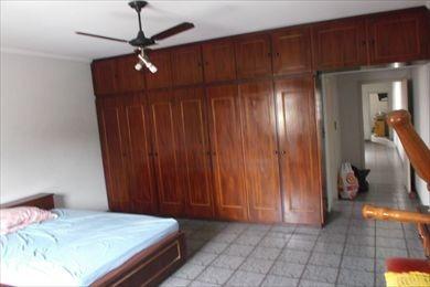 ref.: 893400 - casa em santos, no bairro aparecida - 3 dormitórios