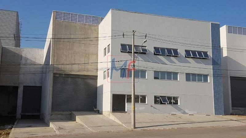 ref 9020 - excelente galpão em condomínio fechado  para locação vargem grande paulista ( loteamento fechado ) sentido interior, 910 m - 9020