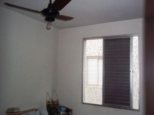 ref.: 906400 - apartamento em praia grande, no bairro vila guilhermina - 2 dormitórios