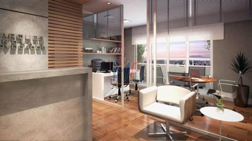 ref 9086 - sala comercial em condomínio para venda no bairro vila prudente, 1 vaga, 35,13 m, localizado a 350 m metrô v. prudente. - 9086