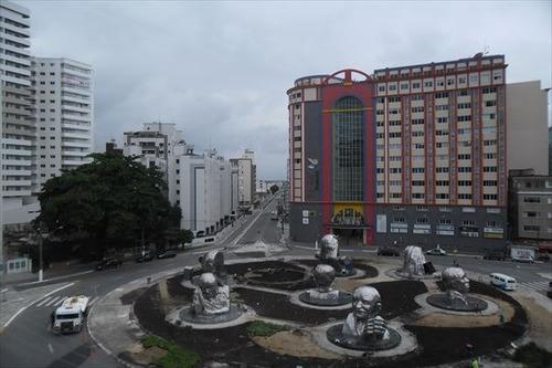 ref.: 918 - apartamento em praia grande, no bairro boqueirão - 2 dormitórios
