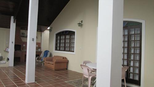 ref.: 9200 - casa em itanhaém, no bairro jardim regina - 4 dormitórios