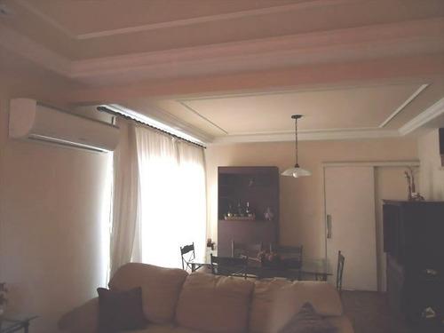ref.: 930 - casa em santos, no bairro campo grande - 3 dormitórios