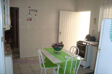ref.: 945 - casa em praia grande, no bairro aviacao - 3 dormitórios