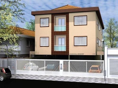 ref.: 950 - apartamento em sao vicente, no bairro cidade nautica - 2 dormitórios