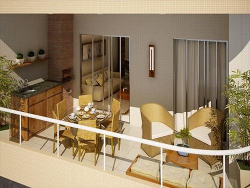 ref.: 951 - apartamento em praia grande, no bairro boqueirao - 3 dormitórios