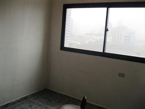 ref.: 95100 - apartamento em praia grande, no bairro vila guilhermina - 1 dormitórios