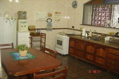 ref.: 9514 - casa em praia grande, no bairro vila caicara- c/piscina - 3 dormitórios
