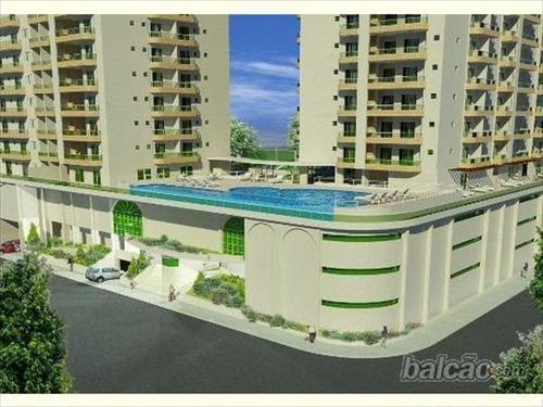ref.: 952 - apartamento em praia grande, no bairro boqueirao - 2 dormitórios