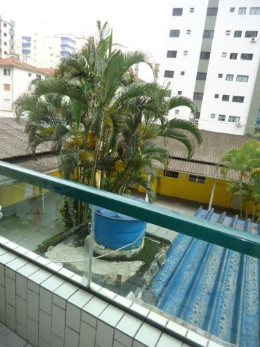 ref.: 952 - apartamento em praia grande, no bairro guilhermina - 1 dormitórios