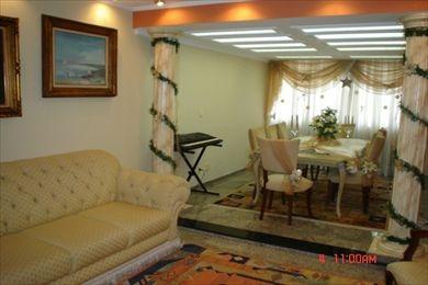 ref.: 95500 - apartamento em santos, no bairro gonzaga - 3 dormitórios
