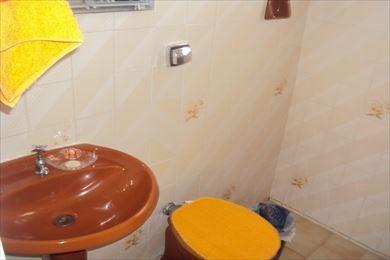ref.: 956 - casa em praia grande, no bairro guilhermina - 2 dormitórios