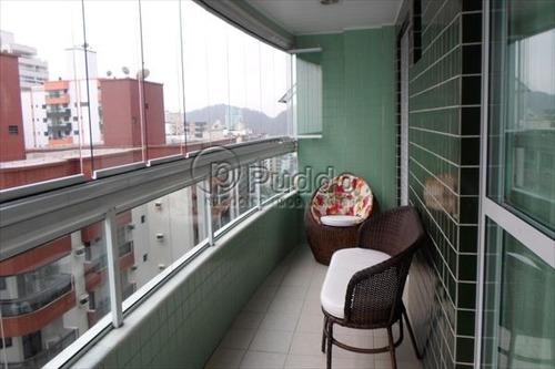 ref.: 957 - apartamento em praia grande, no bairro forte - 3 dormitórios