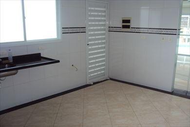 ref.: 957 - casa em praia grande, no bairro guilhermina - 2 dormitórios