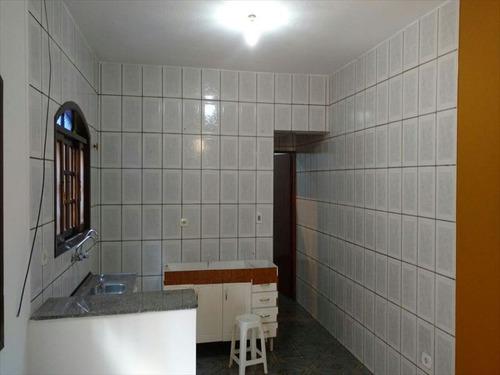 ref.: 96 - casa em mongaguá, no bairro itaoca - 2 dormitórios