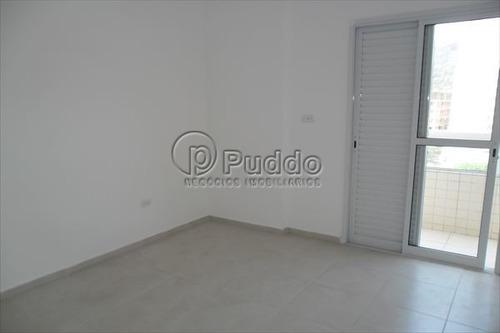 ref.: 967 - apartamento em praia grande, no bairro forte - 2 dormitórios