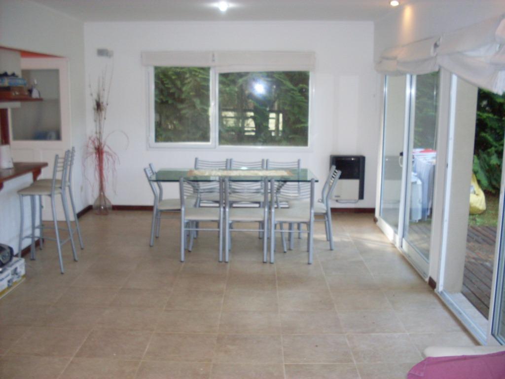 ref: 970 - casa en alquiler, pinamar: zona norte tennis
