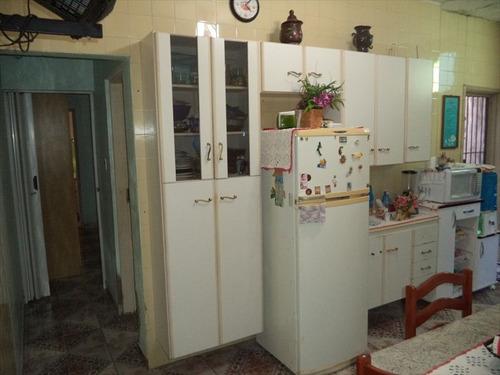 ref.: 971 - casa em praia grande, no bairro canto do forte - 2 dormitórios