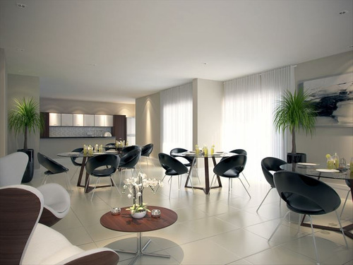 ref.: 976 - apartamento em praia grande, no bairro guilhermina - 3 dormitórios