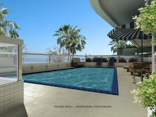 ref.: 980 - apartamento em praia grande, no bairro guilhermina - 2 dormitórios