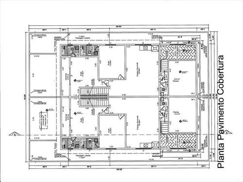 ref.: 986 - casa em santos, no bairro ponta da praia - 4 dormitórios