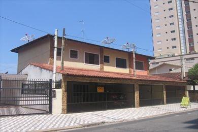 ref.: 9871 - casa em praia grande, no bairro vila caicara - 2 dormitórios