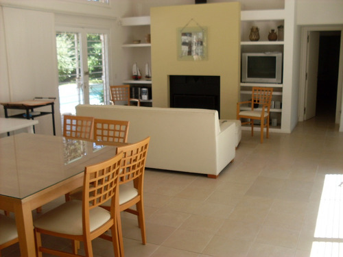 ref: 988 - casa en alquiler, pinamar norte: zona norte tennis ranch