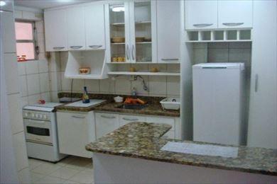 ref.: 988400 - apartamento em santos, no bairro boqueirao - 1 dormitórios