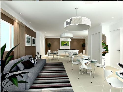ref.: 989 - apartamento em praia grande, no bairro boqueirao