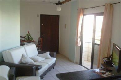 ref.: 992800 - apartamento em praia grande, no bairro vila guilhermina - 1 dormitórios