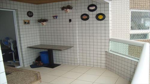 ref.: 994 - apartamento em praia grande, no bairro guilhermina - 2 dormitórios