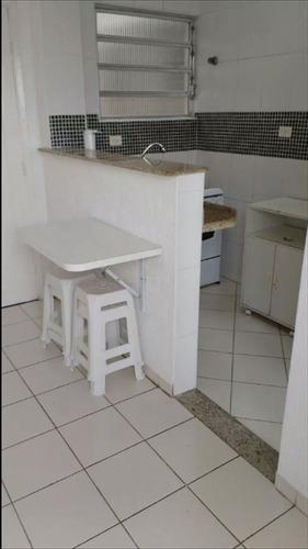 ref.: 997700 - apartamento em santos, no bairro boqueirao - 1 dormitórios