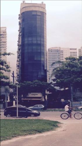 ref.: 997800 - apartamento em santos, no bairro aparecida - 1 dormitórios