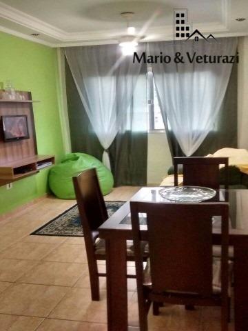 ref. ap00017 - apartamento para locação - vila julia, guaruj