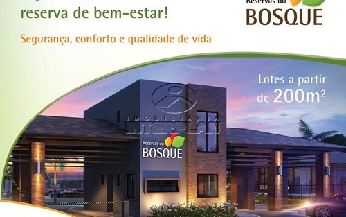 ref.: la90033/04, terreno condominio, bady bassitt - sp, cond. reservas do bosque