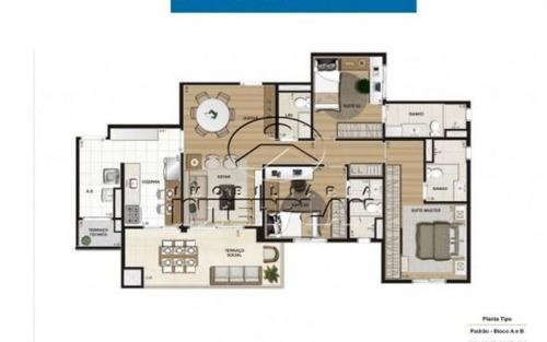 ref.: la90038/01, apartamento, são josé do rio preto - sp, jardim maracanã
