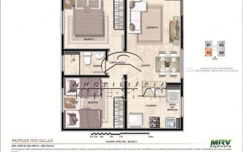 ref.: la90042/09, apartamento, s j do rio preto - sp, vila toninho