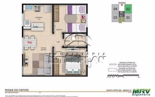 ref.: la90042/33, apartamento, s j do rio preto - sp, cond. rios d'italia