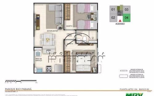 ref.: la90042/40, apartamento, s j do rio preto - sp, jardim planalto