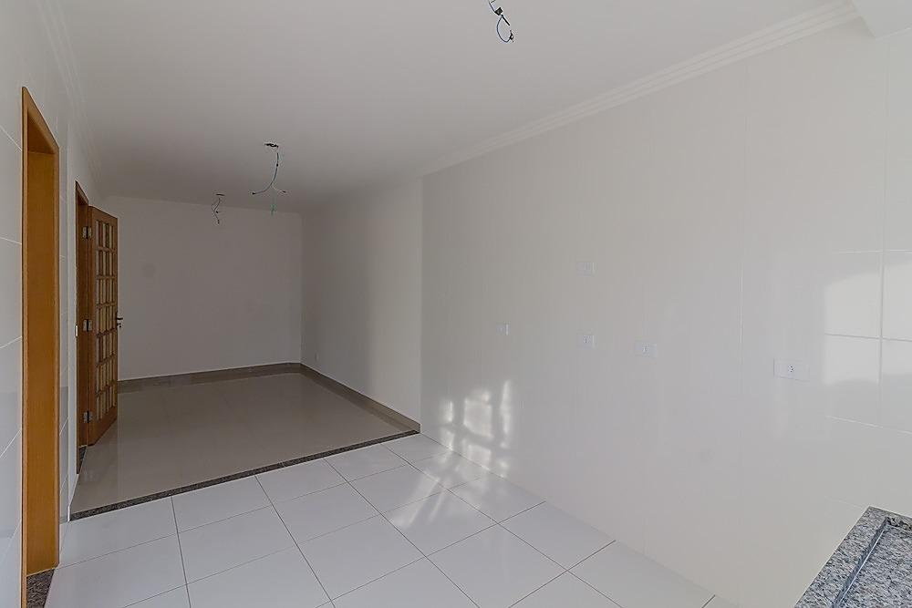 ref.: so0347 - sobrado com cobertura  3 quartos sendo 1  suíte,3 vagas de garagem  vila scarpelli, santo andré. - 58543799