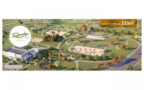 ref.: te31467, terreno condominio, sj do rio preto - sp, cond. damha fit