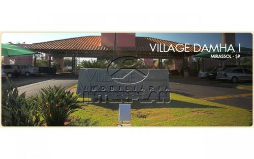 ref.: te31830, terreno condominio, mirassol - sp, cond. village damha mirassol i
