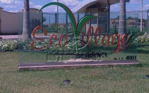 ref.: te32064, terreno condominio s j do rio preto-sp, cond. eco village