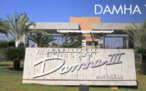 ref.: te32104    terreno condominio  mirassol - sp  cond. village damha mirassol iii